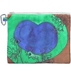 Peacocks Canvas Cosmetic Bag (xxxl) by snowwhitegirl