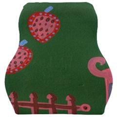 Floating Strawberries Car Seat Velour Cushion