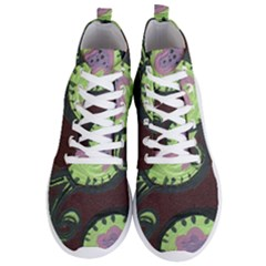 Cute Crab Men s Lightweight High Top Sneakers