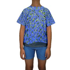 Raining Leaves Kids  Short Sleeve Swimwear