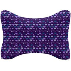 Hearts Butterflies Blue Seat Head Rest Cushion by snowwhitegirl