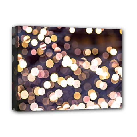 Bright Light Pattern Deluxe Canvas 16  X 12   by FunnyCow
