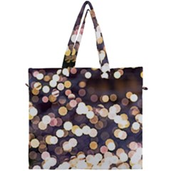 Bright Light Pattern Canvas Travel Bag by FunnyCow