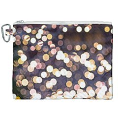 Bright Light Pattern Canvas Cosmetic Bag (xxl) by FunnyCow