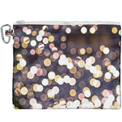 Bright Light Pattern Canvas Cosmetic Bag (xxxl) by FunnyCow