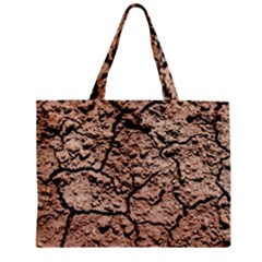 Earth  Light Brown Wet Soil Mini Tote Bag by FunnyCow