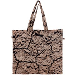 Earth  Light Brown Wet Soil Canvas Travel Bag by FunnyCow