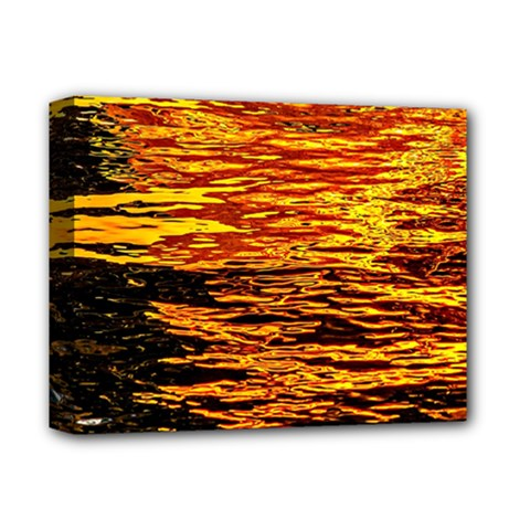 Liquid Gold Deluxe Canvas 14  X 11  by FunnyCow