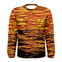 Liquid Gold Men s Long Sleeve Tee by FunnyCow