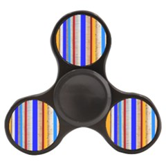 Colorful Wood And Metal Pattern Finger Spinner by FunnyCow
