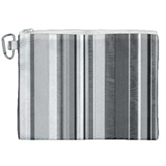 Shades Of Grey Wood And Metal Canvas Cosmetic Bag (xxl) by FunnyCow