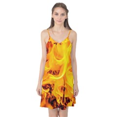 Fire And Flames Camis Nightgown by FunnyCow