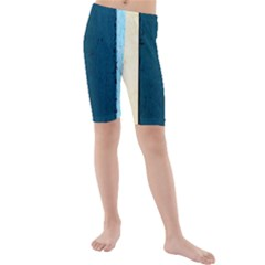 Flat Angle Kids  Mid Length Swim Shorts by FunnyCow
