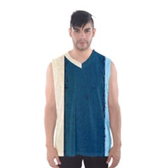 Flat Angle Men s Basketball Tank Top by FunnyCow