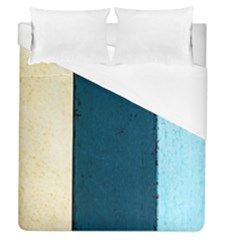 Flat Angle Duvet Cover (queen Size) by FunnyCow