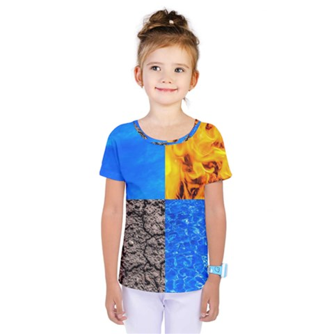The Fifth Inside Funny Pattern Kids  One Piece Tee by FunnyCow