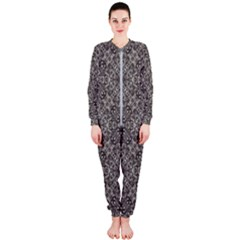 Luxury Modern Baroque Pattern Onepiece Jumpsuit (ladies)  by dflcprints