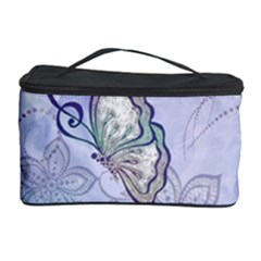Wonderful Butterlies With Flowers Cosmetic Storage Case by FantasyWorld7