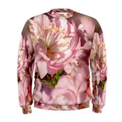 Beautiful Flowering Almond Men s Sweatshirt by FunnyCow