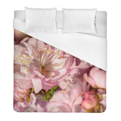 Beautiful Flowering Almond Duvet Cover (full/ Double Size) by FunnyCow