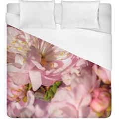 Beautiful Flowering Almond Duvet Cover (king Size) by FunnyCow