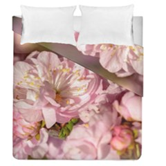Beautiful Flowering Almond Duvet Cover Double Side (queen Size) by FunnyCow