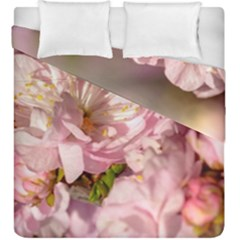 Beautiful Flowering Almond Duvet Cover Double Side (king Size) by FunnyCow