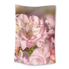 Beautiful Flowering Almond Small Tapestry by FunnyCow