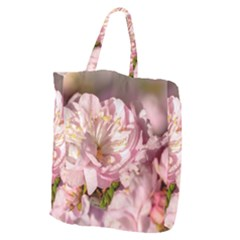 Beautiful Flowering Almond Giant Grocery Tote by FunnyCow