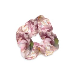 Beautiful Flowering Almond Velvet Scrunchie by FunnyCow