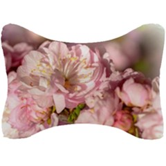 Beautiful Flowering Almond Seat Head Rest Cushion by FunnyCow