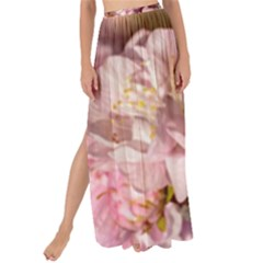 Beautiful Flowering Almond Maxi Chiffon Tie Up Sarong by FunnyCow