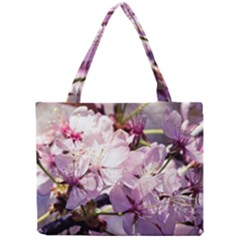 Sakura In The Shade Mini Tote Bag by FunnyCow