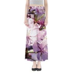 Sakura In The Shade Full Length Maxi Skirt
