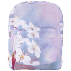 Pink Mist Of Sakura Full Print Backpack by FunnyCow