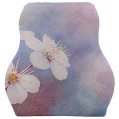 Pink Mist Of Sakura Car Seat Velour Cushion  by FunnyCow
