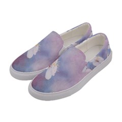 Pink Mist Of Sakura Women s Canvas Slip Ons by FunnyCow