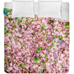 Almond Tree In Bloom Duvet Cover Double Side (king Size) by FunnyCow