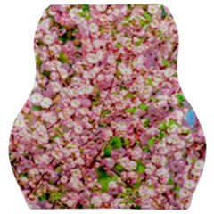 Almond Tree In Bloom Car Seat Velour Cushion