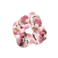 Blooming Almond At Sunset Velvet Scrunchie by FunnyCow