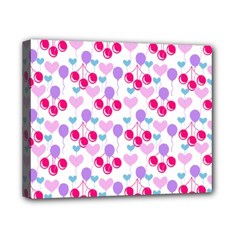 Pastel Cherries Canvas 10  X 8  by snowwhitegirl