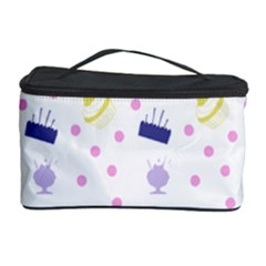 Cakes And Sundaes Cosmetic Storage Case by snowwhitegirl