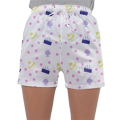 Cakes And Sundaes Sleepwear Shorts by snowwhitegirl
