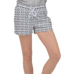 Boots Grey Women s Velour Lounge Shorts