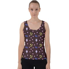 Cakes And Sundaes Chocolate Velvet Tank Top