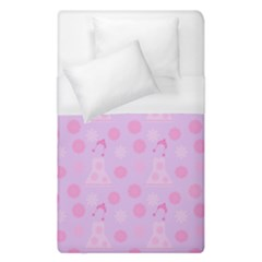 Lilac Dress Duvet Cover (single Size)