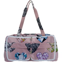Gem Hearts And Rose Gold Multi Function Bag	 by 8fugoso