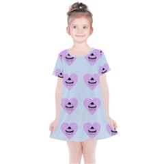Blue Cupcake Kids  Simple Cotton Dress