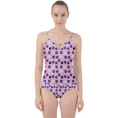 Pink Donuts Cut Out Top Tankini Set by snowwhitegirl