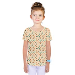 Vintage Hearts Kids  One Piece Tee